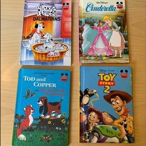Lot of 4 Kids Walt Disney's Wonderful World of Reading Hardback Books